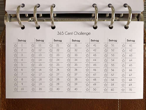 365 Cent Challenge Personal