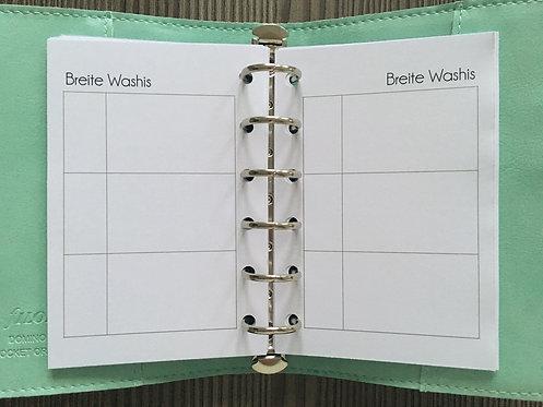 Breite Washis Pocket