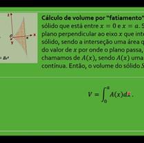 Volume de sólidos geométricos