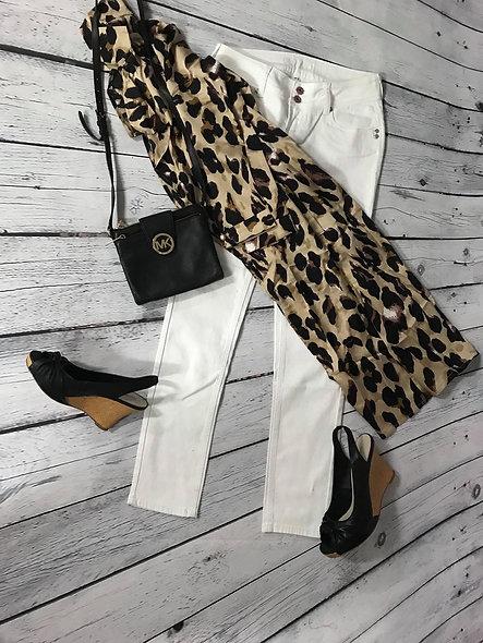 Jeans blanc 28