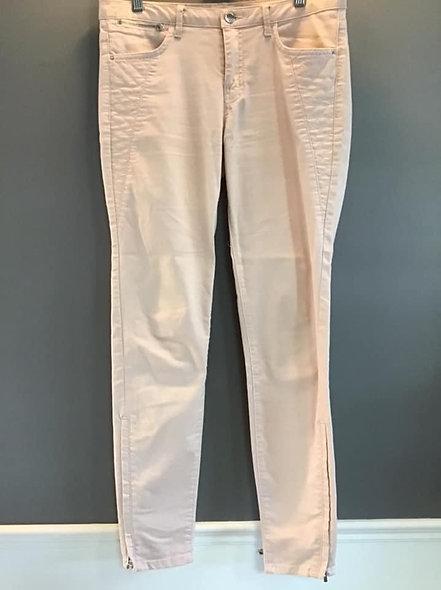 Jeans Zara rose pâle 40 (8)