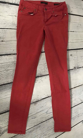 Jeans rouge 27