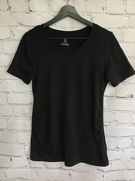 L'essentiel t-shirt noir maternité