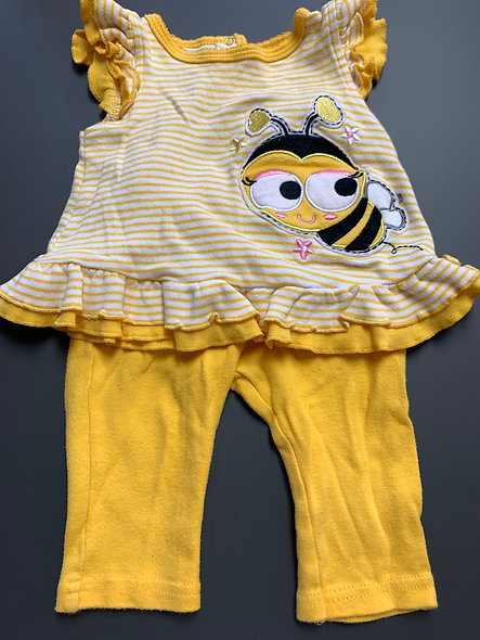 Petit ensemble abeille 🐝 12 mois