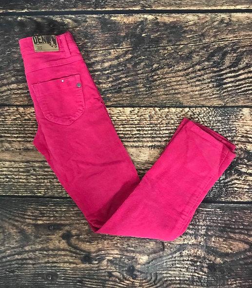 Superbes pantalons 10 ans en velours cordé Deux par Deux