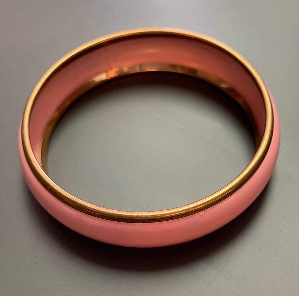 Joli quatuor de bracelets rose et or