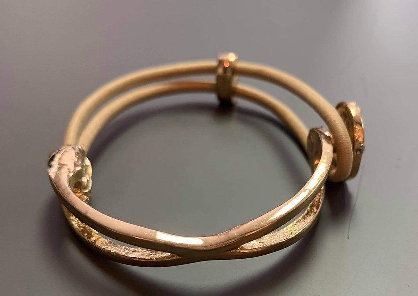Bracelet avec touche or
