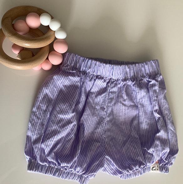 Mini Short Lilas 3 mois