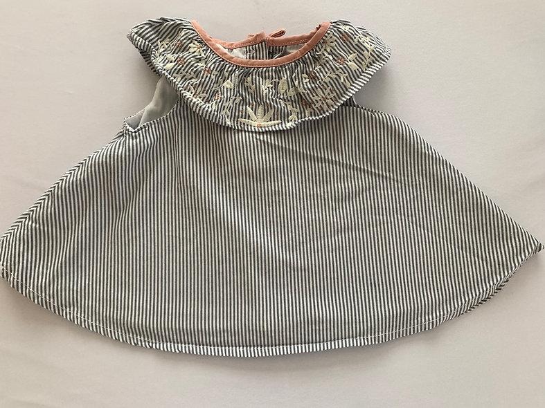Petite robe  soleil 6-9 mois 👗