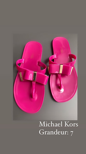 Superbes sandales basses Michael Kors 7R