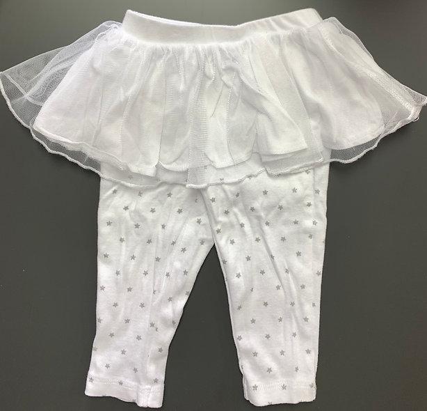 Magnifique legging avec tutu 9 mois