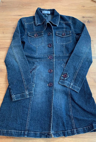 Robe ou blouse longue en jeans Jacob XL/L