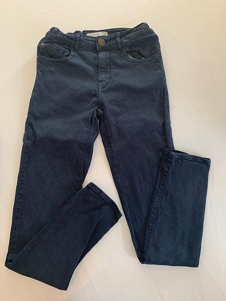 Pantalon Zara bleu foncé 10 ans