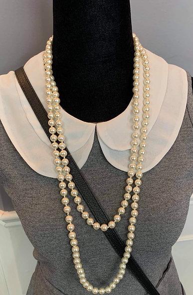Collier classique style Coco Chanel