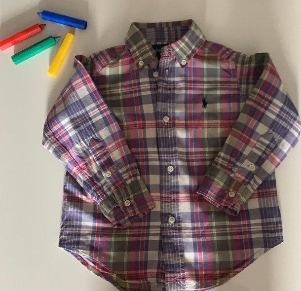 Superbe chemise Ralph Lauren 2 ans