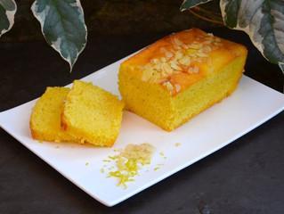Recette du cake au citron et amandes