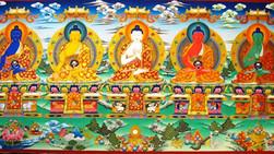 Les 5 familles de Bouddha