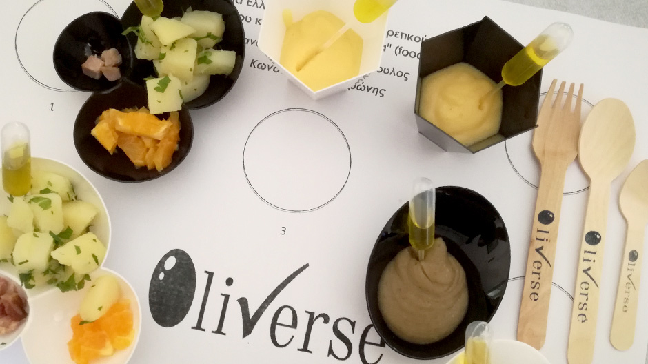 Olive oil and food pairing
