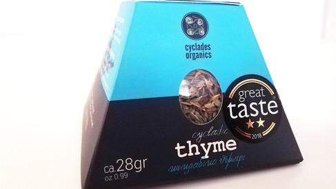 Κυκλαδίτικο θυμάρι, Cyclades Organics