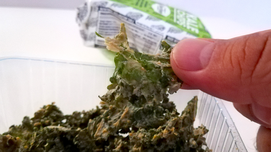 kale chips, rho