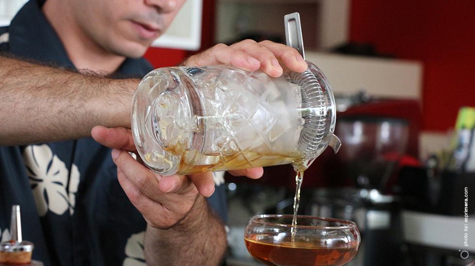 George Megaloikomou, bartender