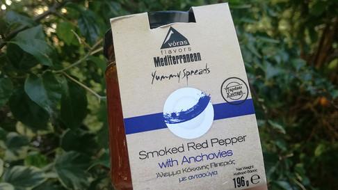 Άλειμμα πιπεριάς με αντσούγια, Voras flavors