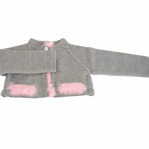 Feather Pocket Cardigan