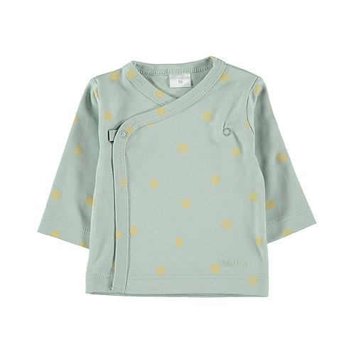 Dots LS Side Snap-Tee