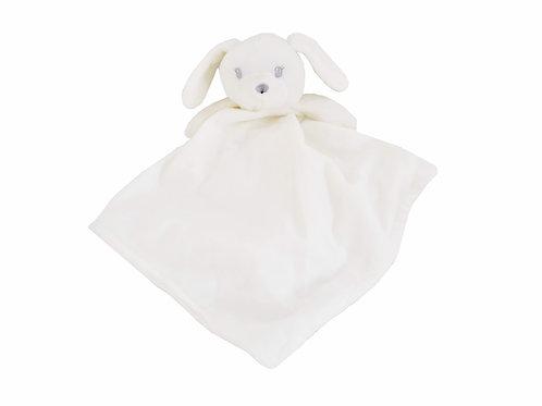 White Baby Dog Comforter