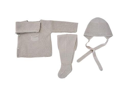 Dim Knitted Winter Set