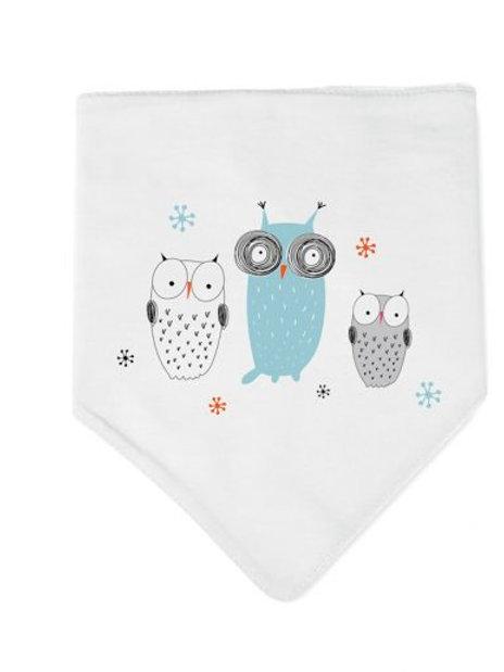 Bandana Bib Owls