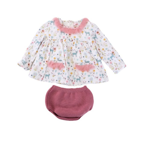 Forest Baby Dress