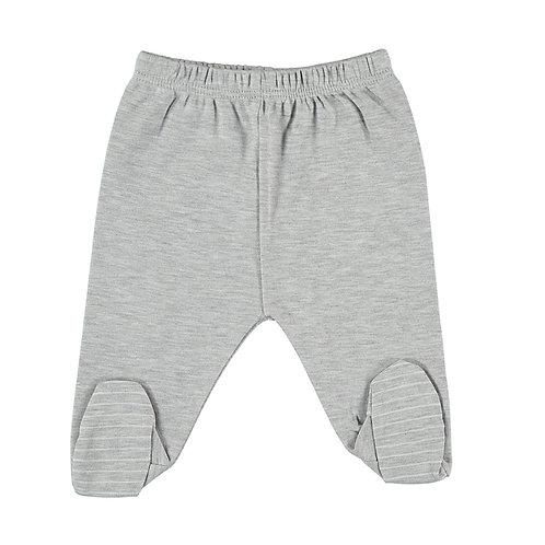 Footed Pants Grey