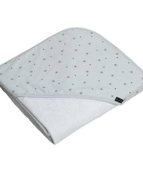 Hooded Baby Towel Stars
