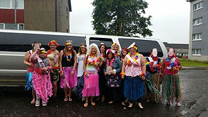 Hen Party Limo Jeep