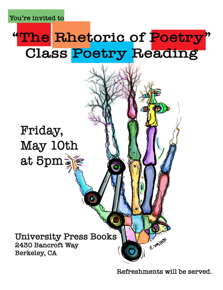 Poetry Reading in Berkeley, CA