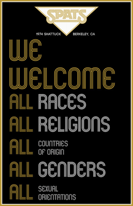 SPATS - We Welcome All - Poster - 11x17