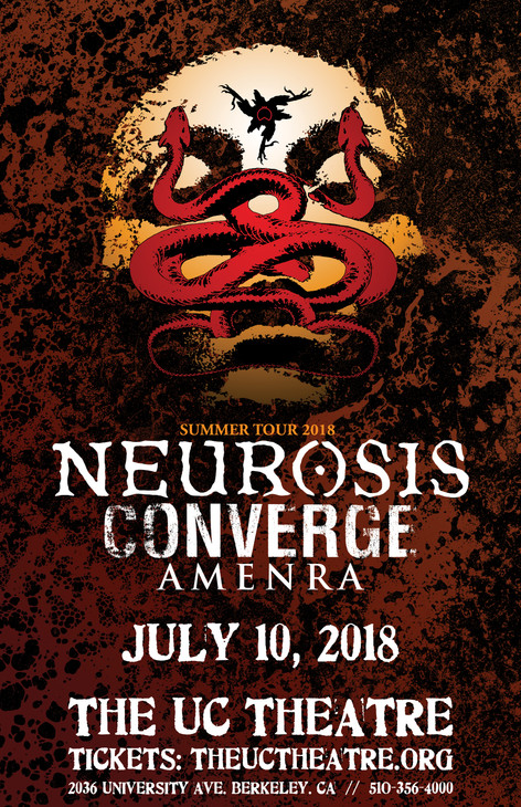 Neurosis w/ Converge & Amenra