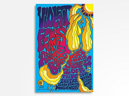 Violent Femmes Limited Edition Commemorative Poster
