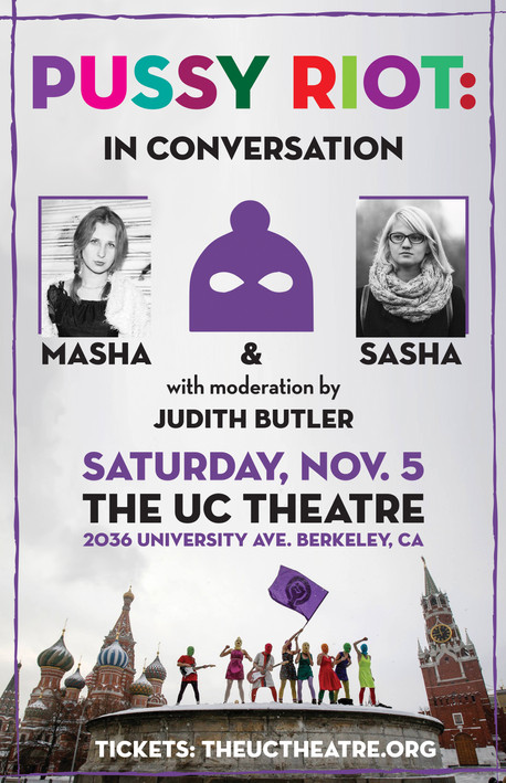 Pussy Riot w/ Judith Butler