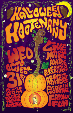 Downtown Berkeley Halloween Hootenanny