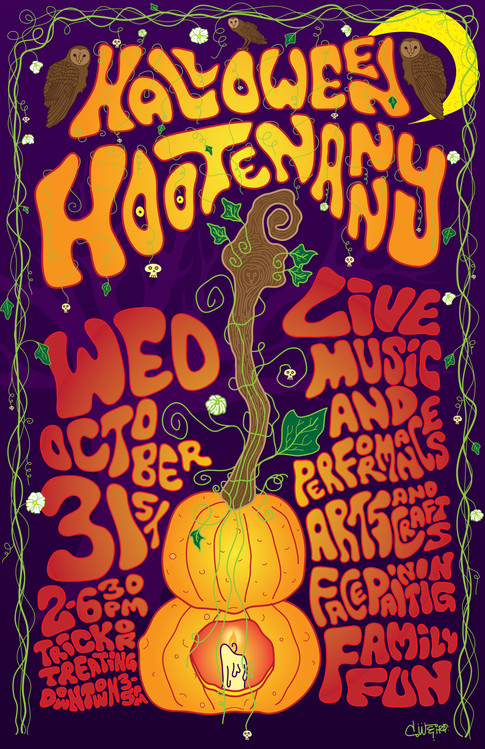 Downtown Berkeley Halloween Hootenanny