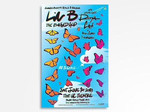 Lil B + Doja Cat Limited Edition Commemorative Poster
