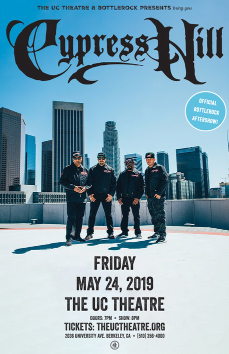 Cypress Hill - UCT052419 - Promo Poster