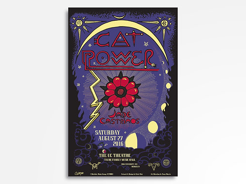 Cat Power Limited Edition Commemorative Poster
