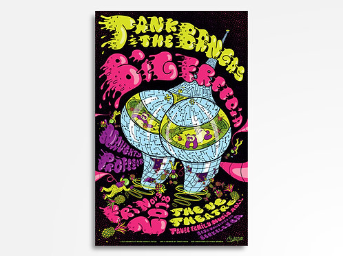 Tank & The Bangas + Big Freedia Limited Edition Commemorative Poster