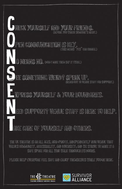 Consent - Acrostic - Promo Poster - 11x1