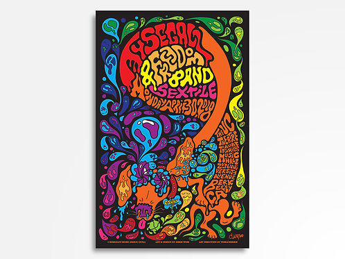 Ty Segall & Freedom Band Limited Edition Commemorative Poster