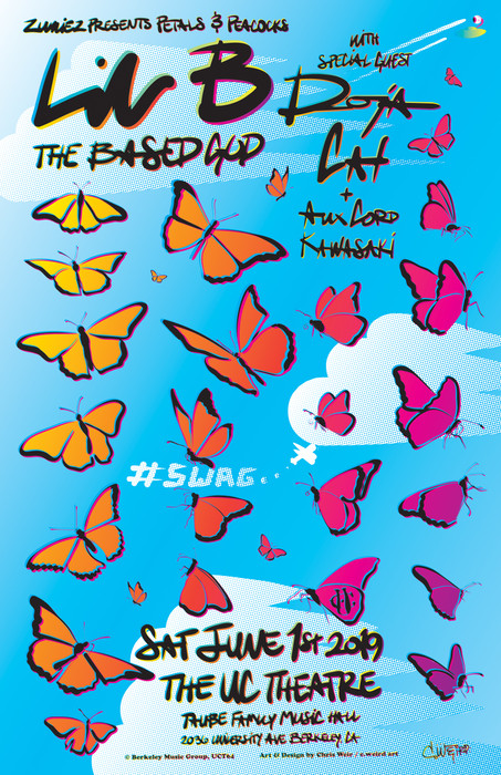 Lil B with Special Guest: Doja Cat presented by Zumies