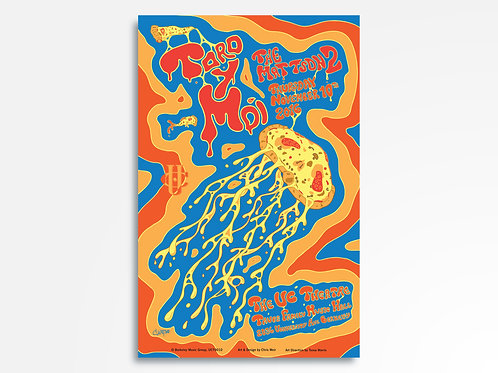 Toro Y Moi + The Mattson 2 Limited Edition Commemorative Poster